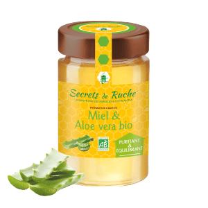 Miel et Aloe Vera Secrets de Ruche