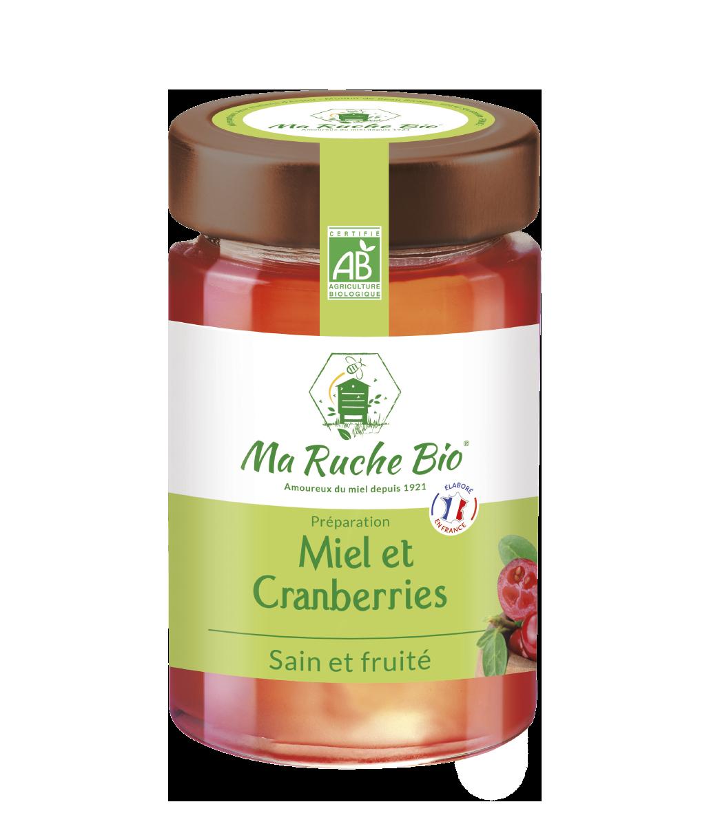 Miel et Cranberries Secrets de Ruche